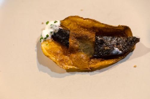 One Sardine Chip