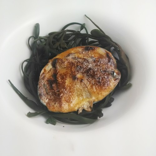 Broiled Abalone