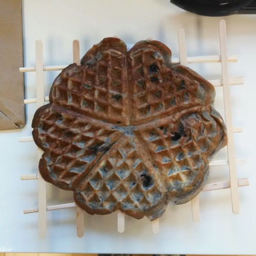 DIY Waffle Stand
