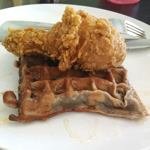 Waffles + Chicken