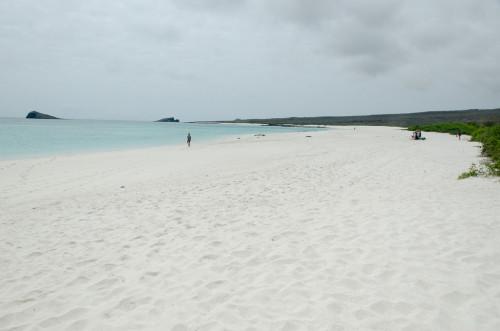 White sand!